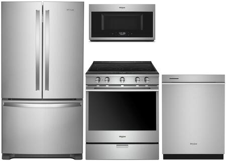 Whirlpool  1009980 Kitchen Appliance Package Stainless Steel, main image
