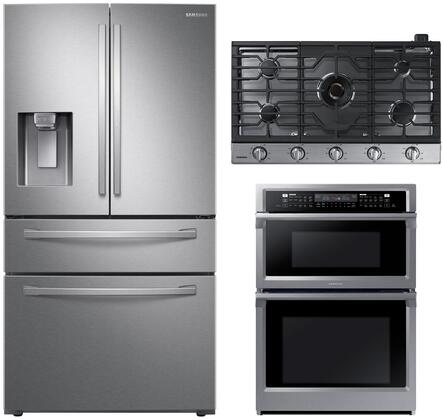 Samsung 1075868 Kitchen Appliance Package & Bundle Stainless Steel, main image