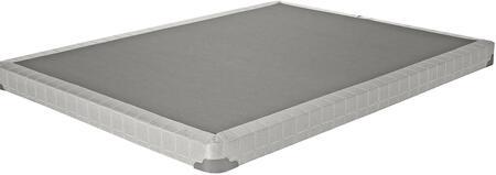 Coaster Low Profile Foundation 350045KWS Stationary Bed Frames Gray, Main Image
