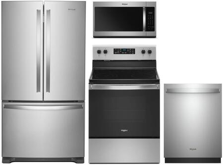Whirlpool  902701 Kitchen Appliance Package Stainless Steel, 1