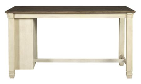 Signature Design by Ashley Bolanburg D64742 Dining Room Table Beige, Main View