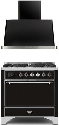 Ilve  1260027 Kitchen Appliance Package Black, Main image