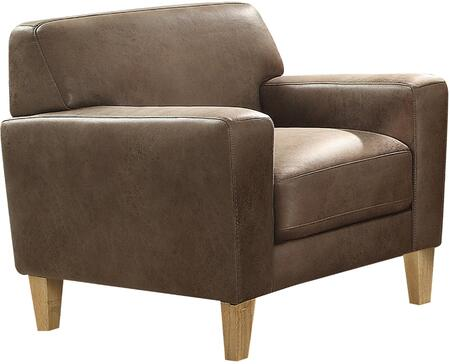Acme Furniture Naroryta 53732 Living Room Chair Brown, 1