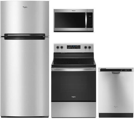 Whirlpool  903033 Kitchen Appliance Package Stainless Steel, Main image
