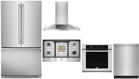 Electrolux  1046323 Kitchen Appliance Package Stainless Steel, Main Image