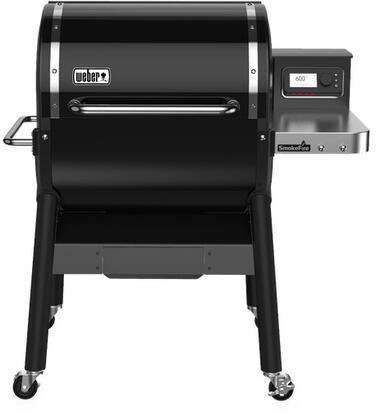 Weber SmokeFire 22510201 Pellet Grill Black, 22510201SmokeFire EX4 Wood Fired Pellet Grill