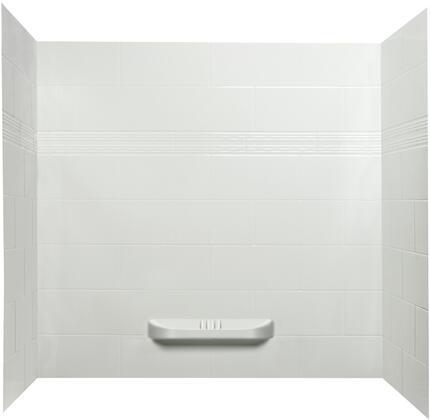 SW-60-BA-3 Kayla Acrylic Bathtub Shower Wall  in