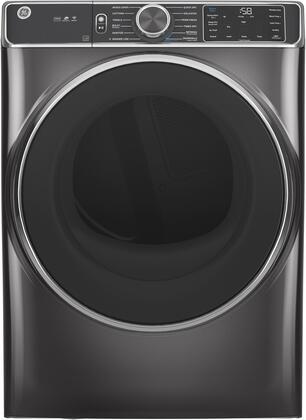 GE  GFD85ESPNDG Electric Dryer Slate, Main Image