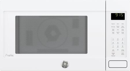 GE Profile PEB9159DJWW Countertop Microwave White, Front