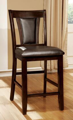 Furniture of America Brent II CM3984DKPC2PK Bar Stool Brown, Main Image