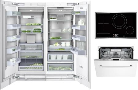 Gaggenau Deals 400 Series 1408416 Kitchen Appliance Package Panel Ready, Main image