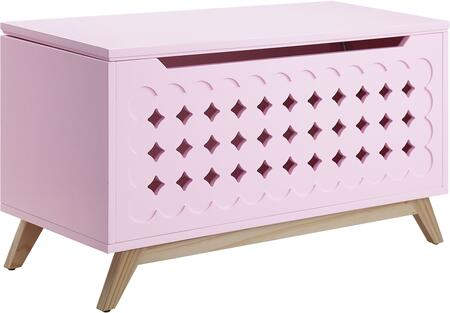 Acme Furniture Doll Cottage 97630 Trunk Pink, Chest