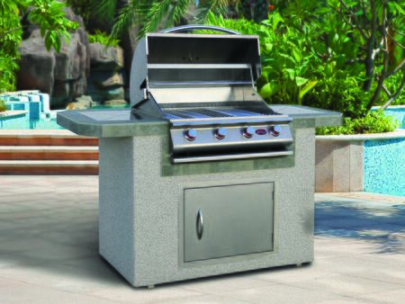 Cal Flame  LBK601 Outdoor Kitchen Island Stainless Steel, Main View