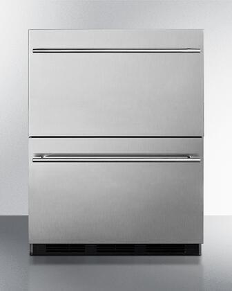Summit  SP6DBS2D7ADA Drawer Refrigerator Stainless Steel, SP6DBS2D7ADA Drawer Refrigerator