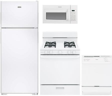 Hotpoint 890775 Kitchen Appliance Package & Bundle White, main image