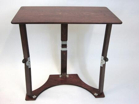 LD1527-M Mahogany Color Wooden Folding Laptop Desk/Tray