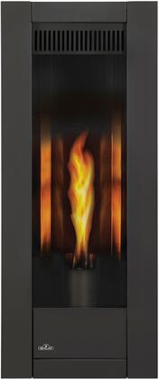 Napoleon Torch GT8NSB Fireplace Black, Black Front with Fire
