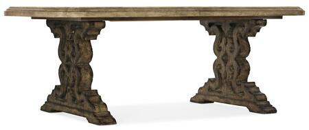 Hooker Furniture La Grange 69607520081 Dining Room Table, Silo Image