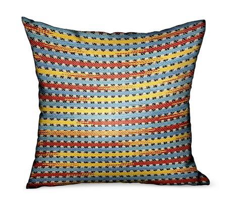 Plutus Brands Vivid Stripe PBDUO1022222DP Pillow, PBDUO102