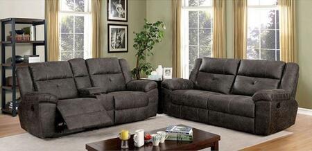 Furniture of America Chichester CM6943SFSET Living Room Set Brown, Living Room Set
