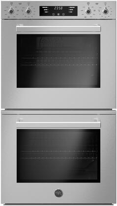 Bertazzoni Professional PROF30FDEXV Double Wall Oven Stainless Steel, PROF30FDEXV Double Wall Oven