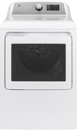GE GTD72GBSNWS Gas Dryer White, GTD72GBSNWS Front View