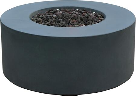 OFG113-LP Venice Fire Table with 304 Stainless Steel  Electronic Ignition with Auto Safety
