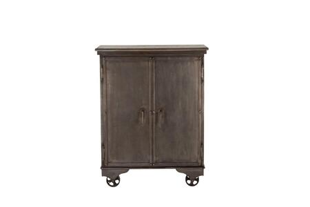 Anderson Collection ZWANDBC38 Bar Cabinet in Grey