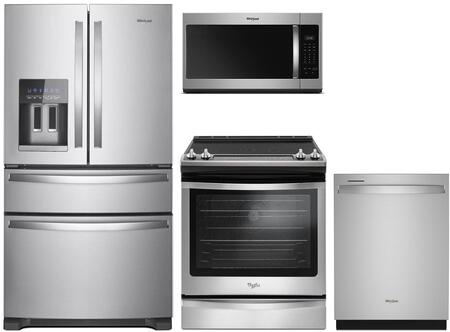 Whirlpool 1115567 Kitchen Appliance Package & Bundle Stainless Steel, 86