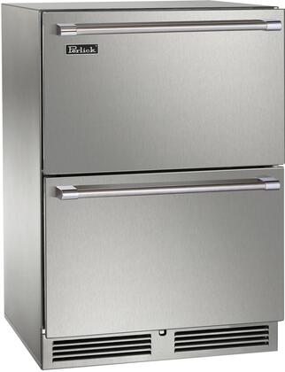 Perlick Signature HP24ZS45 Drawer Refrigerator Stainless Steel, Main Image