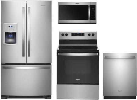 Whirlpool  991688 Kitchen Appliance Package Stainless Steel, Main Image