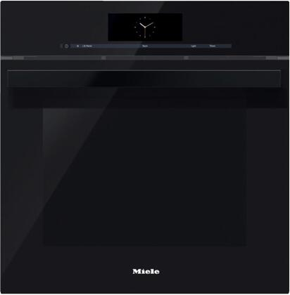 Miele M Touch DGC6860XXLOBSW Single Wall Oven Black, Main Image