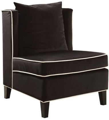 Acme Furniture Ozella 59576 Accent Chair Black, 1