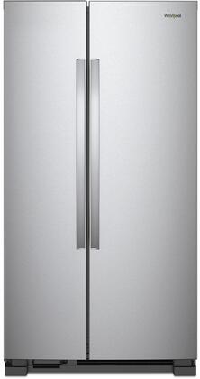 Whirlpool  WRS315SNHM Side-By-Side Refrigerator Stainless Steel, Main Image