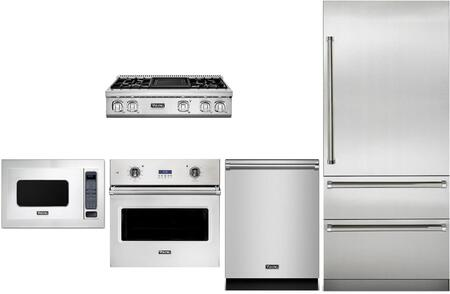Viking  874299 Kitchen Appliance Package Stainless Steel, main image