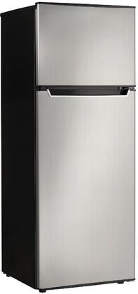 Danby  DPF073C2BSLDB Top Freezer Refrigerator Stainless Steel, Main Image