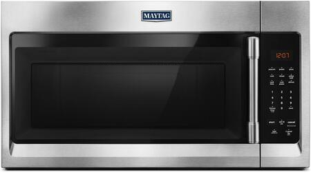 Maytag MMV1174FZ Over The Range Microwave Stainless Steel, MMV1174FZ Front View