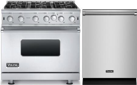 Viking 873805 Kitchen Appliance Package & Bundle Stainless Steel, main image