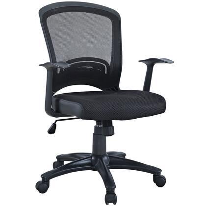 Modway Pulse EEI758BLK Office Chair Black, Image 1
