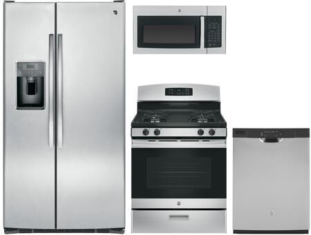 GE 1054667 Kitchen Appliance Package & Bundle Stainless Steel, main iimage