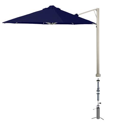 Shadowspec SU6 Series KITP6SQ25UNOGABLUA Outdoor Umbrella Blue, Midnight Blue