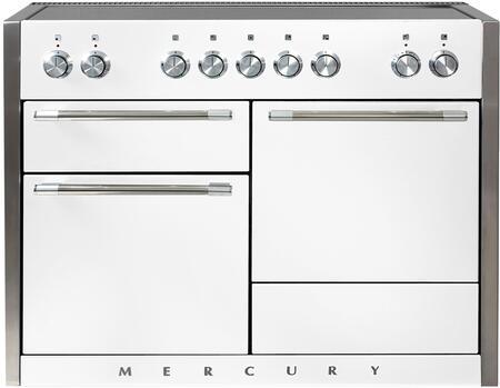 AGA Mercury AMC48INSND Freestanding Electric Range White, AMC48INSND Induction Range