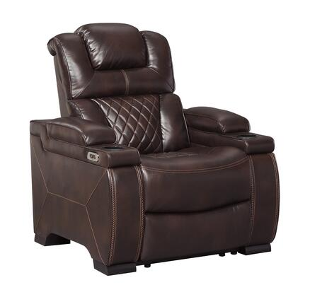 Signature Design by Ashley Warnerton 7540713 Recliner Chair Brown, Main Image