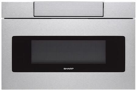 SHARP  SMD2470ASY Microwave Drawer Stainless Steel, Main Image