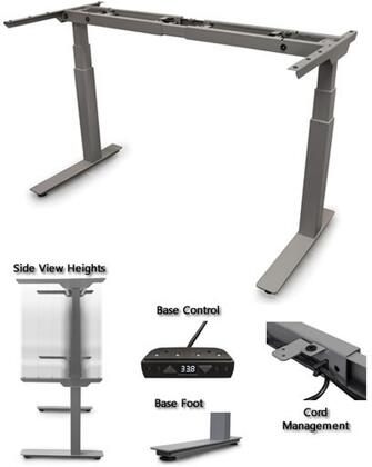STRATOSPHERE-2 Sit-Stand Solutions with Height Adjustment Range  Low 58 Db Noise Level and Four Memory/Six Button Programmable Switch and