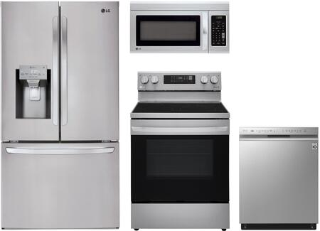LG  989182 Kitchen Appliance Package Stainless Steel, Main Image