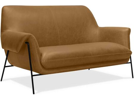 Hooker Furniture SS Series SS317ST086 Loveseat Brown, Main Image