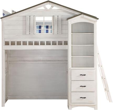Acme Furniture Tree House 37165SET Bedroom Set White, Bedroom Set