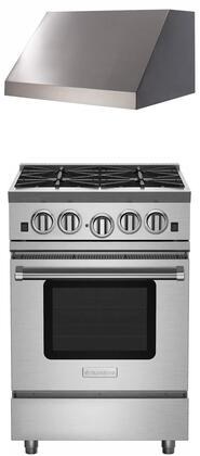 BlueStar 749834 Kitchen Appliance Package & Bundle Stainless Steel, 11