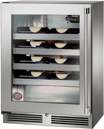 Perlick Signature HH24WS43LL Wine Cooler 25 Bottles and Under Stainless Steel, Main Image